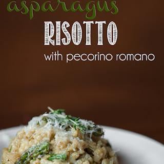 Pecorino Romano Risotto Recipes