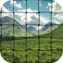Photo weave effect icon