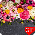 Flowers GIF icon
