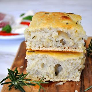Homemade Italian Rosemary Focaccia Bread