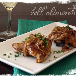 Pollo in Salsa di Mandorle {Chicken w/Almond Sauce}.