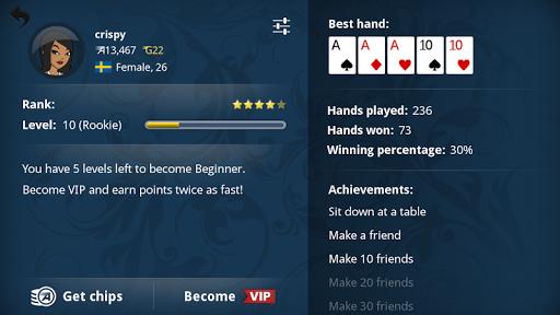 Appeak u2013 The Free Poker Game 3.1.0 10
