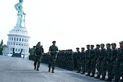 Dangartap Berangkatkan Prajurit Yonif 511/DY ke Wilayah Perbatasan RI-Malaysia