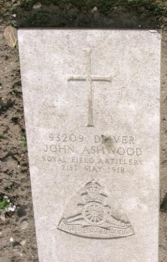 John Ashwood grave