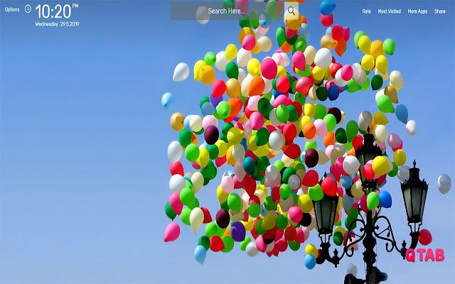 Balloons Wallpapers HD Theme