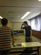 Photo: 9/22 稽古中?休憩中?(笑) 保倉さんはいつもムードメーカー(^-^)