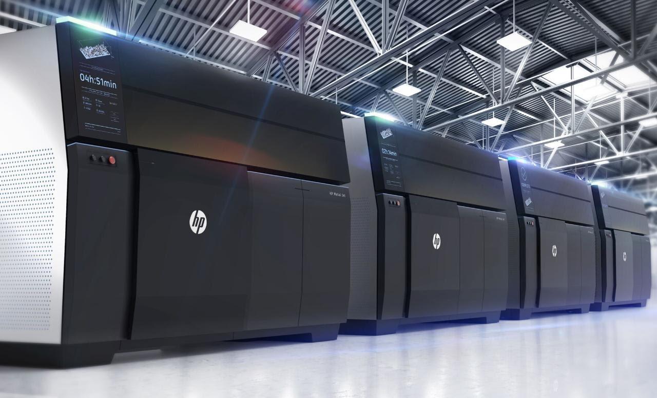 HP Metal Jet обещает 50-кратное увеличение для трехмерных печатных частей