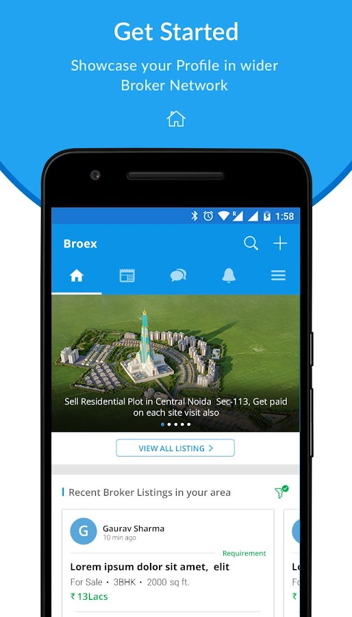 BroEx-Real Estate Brokers App- screenshot