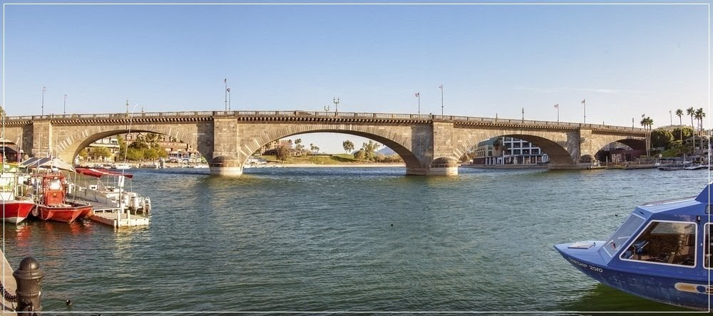 Como uma ponte de Londres foi parar na América