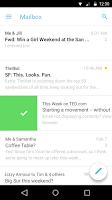 Screenshot of Mailbox