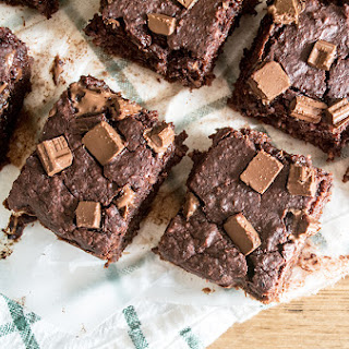 Gooey Black Bean and Beet Brownies