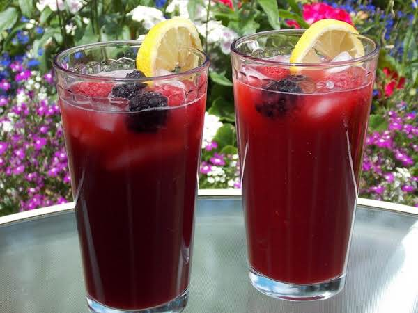 Berry Tart Lemonade- Recipe Created By Lavender Lynn