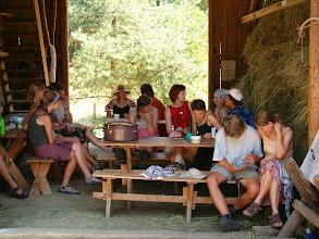 Photo: Odpolední klid ve stodole
