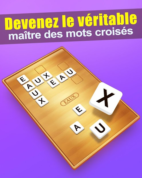 Mots Croisés Android App Screenshot