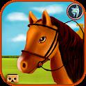 VR Farm Horse Frenzy Run icon