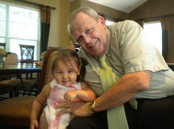 Tom Visser With Granddaughter Lilly