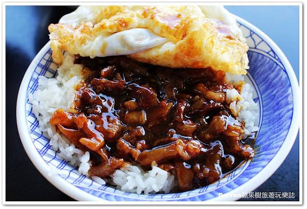 『宜蘭五結』阿德早午餐★宜蘭人氣早餐必點魯肉飯+半熟荷包蛋/宜蘭五結在地平價美食小吃