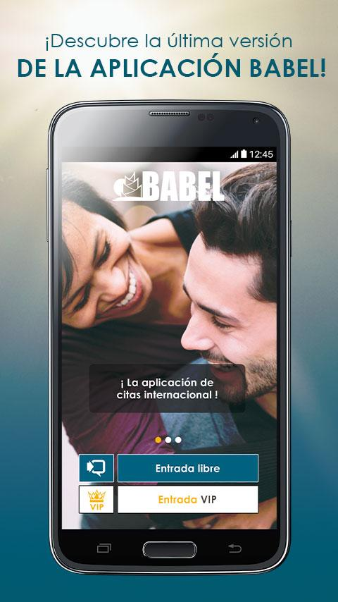 BABEL: Chat & citas: captura de pantalla