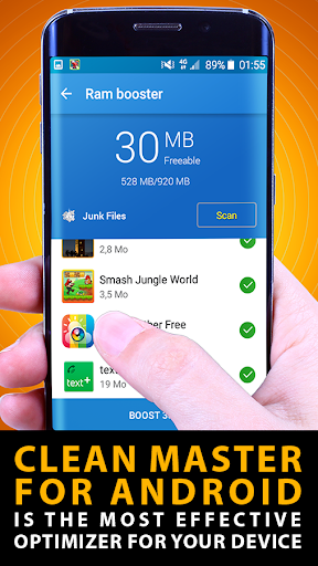 Clean master android application download