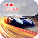 Speedy Highway -2D Car Racing Game icon
