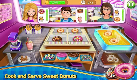 Crazy Burger Recipe Cooking Game: Chef Stories- screenshot thumbnail