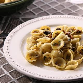 Orecchiette with Pistachios.