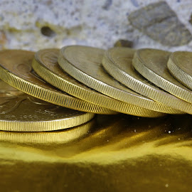 Guatemalan coins by Cal Brown - Artistic Objects Other Objects ( other objects, coins, guatemala, artistic objects, close up, currency,  )