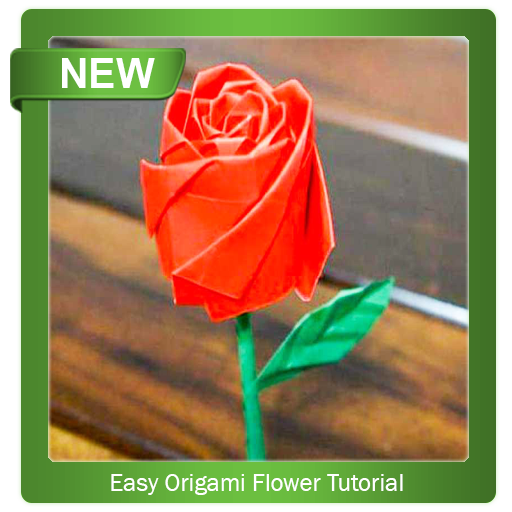 Origami Charming Origami Rose Instructions: How To Make Origami ... | 512x512