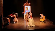 En el Teatro Apolo se revivió a la figura de La Baltasara.