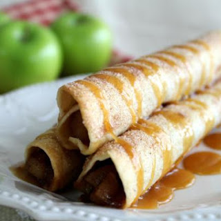 Caramel Apple Pie Taquitos