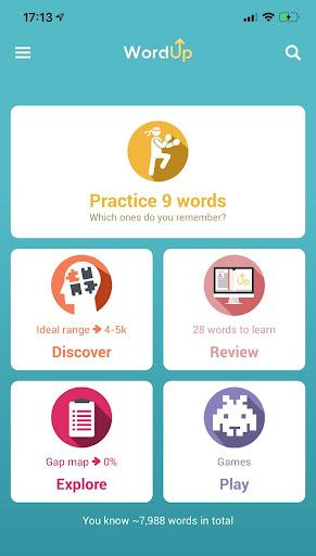 WordUp Vocabulary  screenshots 1
