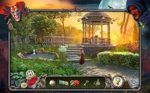 Dark Tales 5: The Red Mask. Hidden Object Game. Screenshot