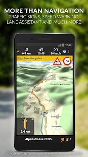 NAVIGON Europe Screenshot 2