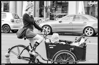 Photo: transport of children