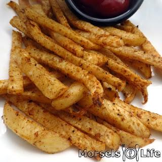 Chipotle Jicama Fries