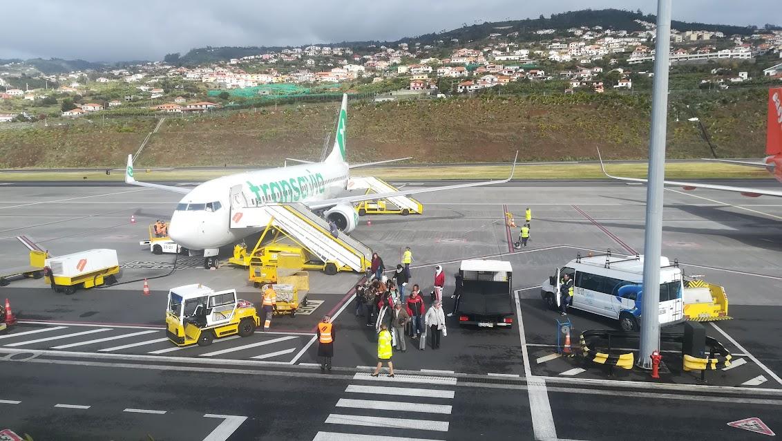 Dit waren alle passagiers die Transavia naar Madeira bracht door de quarantaine maatregelen.