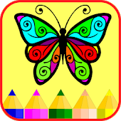 Coloring: Butterflies