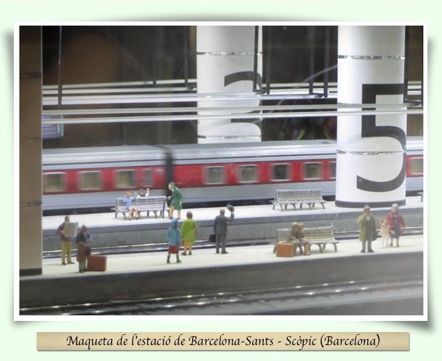 Maqueta Barcelona-Sants