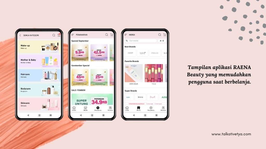 review raena aplikasi reseller dengan tampilan aplikasi yang memudahkan pengguna saat berbelanja