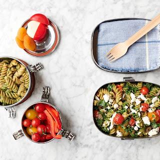 Double-Duty Kale Pesto Pasta.