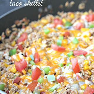 Ground Turkey Taco Skillet