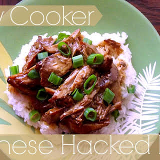 Slow Cooker Chinese Hacked Pork.