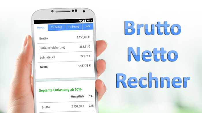 All about brutto netto rechner 2016 for android videos for Spiegel netto rechner