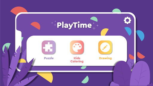 PlayTime World - Game set: Puzzle Coloring Drawing 1.2.4 screenshots 1