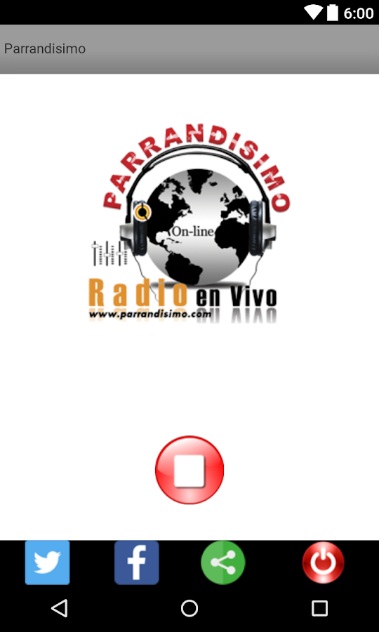 Parrandisimo Radio- screenshot