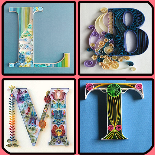 Quilling Paper Alphabets – Stylish Alphabet Design (app)