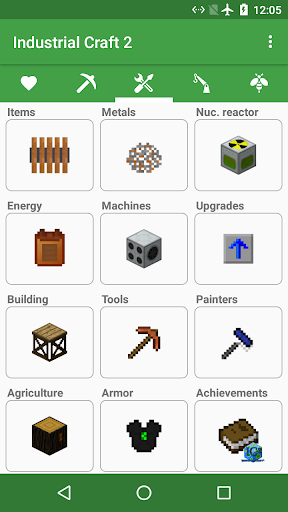 Craft Master Pro - Guide for Minecraft and IC2  screenshots 2