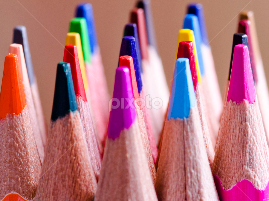 colors by Jojie Canezal - Artistic Objects Other Objects ( pencil, colored pencil, other object, artistic pencil, light pencil )