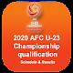 2020 AFC U23 Championship qualification Matches APK