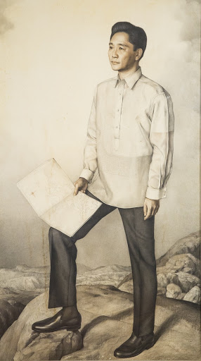 Ferdinand Marcos Painting